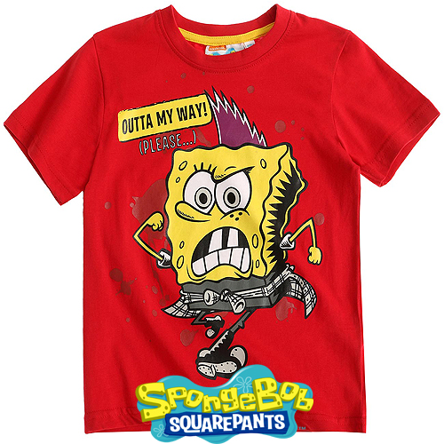 Тениска Спондж Боб