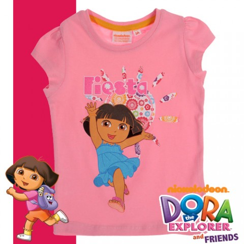 Детска тениска с Дора Изследователката